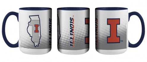 Illinois Fighting Illini State of Mind Coffee Mug
