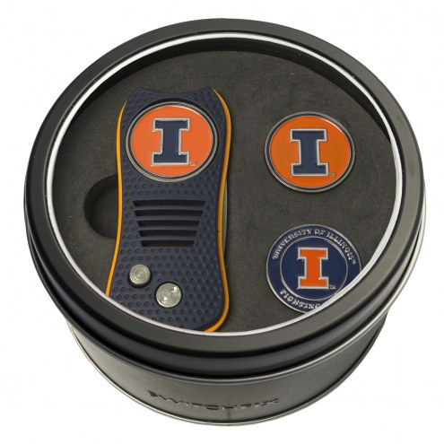 Illinois Fighting Illini Switchfix Golf Divot Tool & Ball Markers