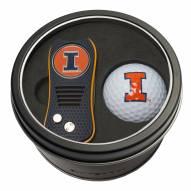 Illinois Fighting Illini Switchfix Golf Divot Tool & Ball