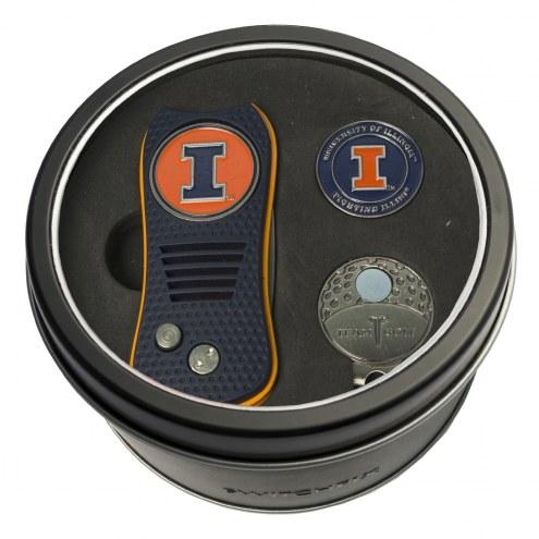 Illinois Fighting Illini Switchfix Golf Divot Tool, Hat Clip, & Ball Marker