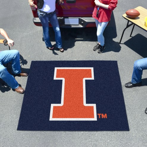 Illinois Fighting Illini Tailgate Mat