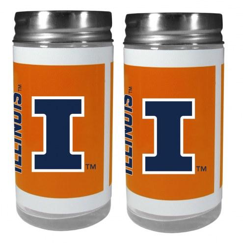 Illinois Fighting Illini Tailgater Salt & Pepper Shakers