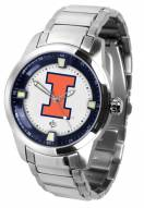 Illinois Fighting Illini Titan Steel Men's Watch