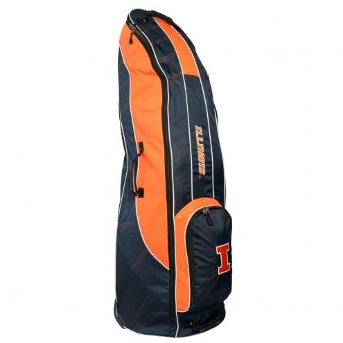 Illinois Fighting Illini Travel Golf Bag