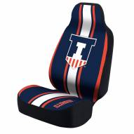 Illinois Fighting Illini Universal Bucket Car Seat Cover