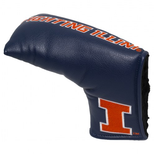 Illinois Fighting Illini Vintage Golf Blade Putter Cover
