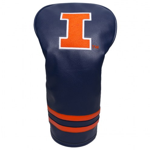 Illinois Fighting Illini Vintage Golf Driver Headcover