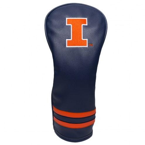 Illinois Fighting Illini Vintage Golf Fairway Headcover