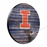 Illinois Fighting Illini Weathered Design Hook & Ring Game