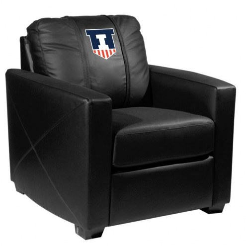 Illinois Fighting Illini XZipit Silver Club Chair