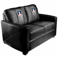 Illinois Fighting Illini XZipit Silver Loveseat