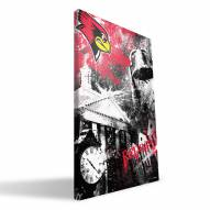 "Illinois State Redbirds 16"" x 24"" Spirit Canvas Print"