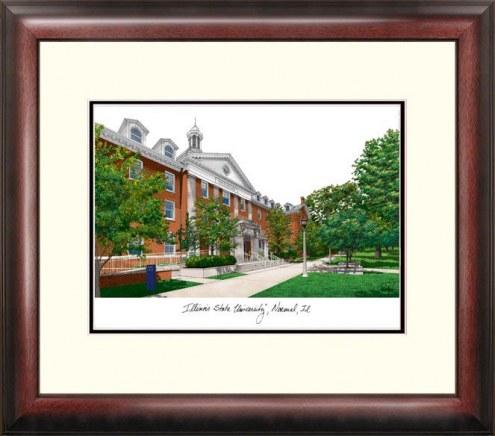 Illinois State Redbirds Alumnus Framed Lithograph