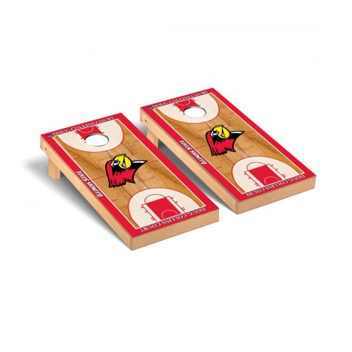 Illinois State Redbirds Basketball Court Cornhole Game Set