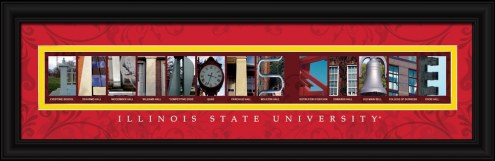 Illinois State University Campus Letter Art