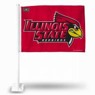 Illinois State Redbirds College Car Flag