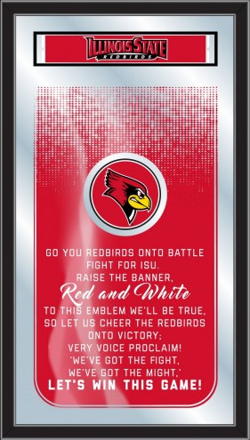 Illinois State Redbirds Fight Song Mirror
