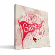 Illinois State Redbirds Gameday Vibes Canvas Print