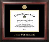 Illinois State Redbirds Gold Embossed Diploma Frame