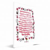 Illinois State Redbirds Hand-Painted Song Canvas Print