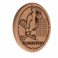 Illinois State Redbirds Laser Engraved Wood Sign
