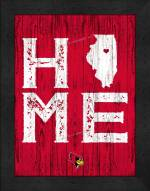 Illinois State Redbirds Home Away From Home Wall Decor