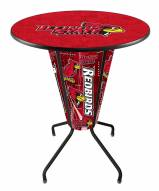 Illinois State Redbirds Indoor Lighted Pub Table