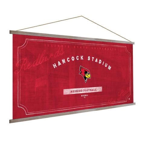 Illinois State Redbirds Stadium Banner