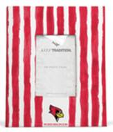 Illinois State Redbirds School Stripes Picture Frame