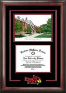 Illinois State Redbirds Spirit Diploma Frame with Campus Image