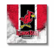 Illinois State Redbirds Vintage Canvas Wall Art