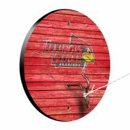 Illinois State Redbirds Weathered Design Hook & Ring Game
