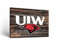 Incarnate Word Cardinals Weathered Canvas Wall Art