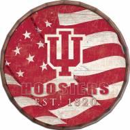 "Indiana Hoosiers 16"" Flag Barrel Top"
