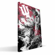 "Indiana Hoosiers 16"" x 24"" Spirit Canvas Print"