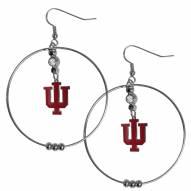 """Indiana Hoosiers 2"""" Hoop Earrings"""