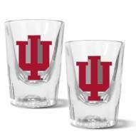 Indiana Hoosiers 2 oz. Prism Shot Glass Set