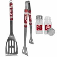 Indiana Hoosiers 2 Piece BBQ Set with Salt & Pepper Shakers