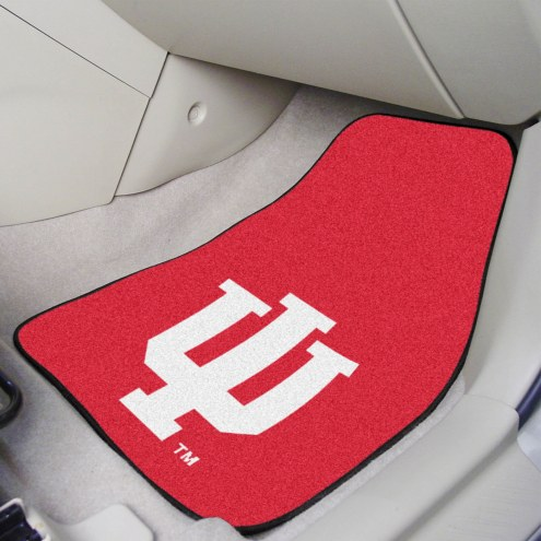 Indiana Hoosiers 2-Piece Carpet Car Mats