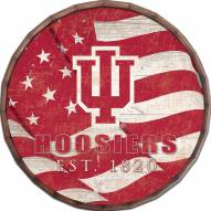 "Indiana Hoosiers 24"" Flag Barrel Top"