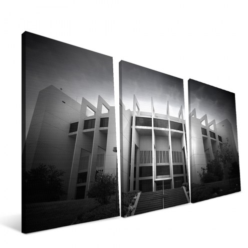 "Indiana Hoosiers 24"" x 48"" Stadium Canvas Print"
