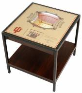 Indiana Hoosiers 25-Layer StadiumViews Lighted End Table