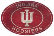 "Indiana Hoosiers 46"" Heritage Logo Oval Sign"