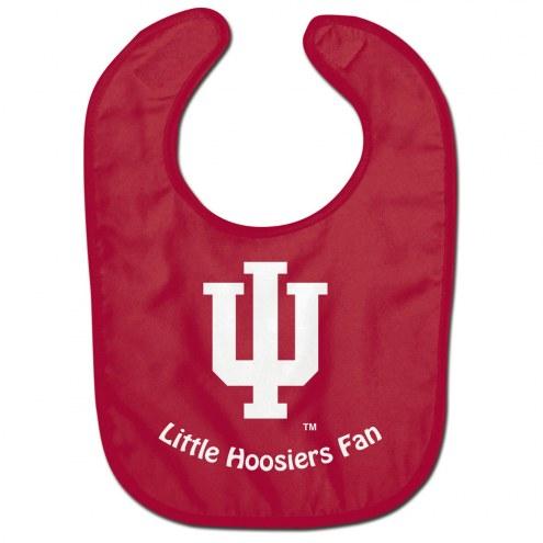Indiana Hoosiers All Pro Little Fan Baby Bib