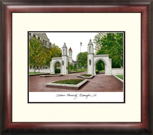 Indiana Hoosiers Alumnus Framed Lithograph