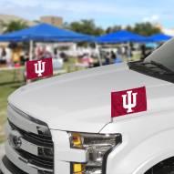 Indiana Hoosiers Ambassador Car Flags