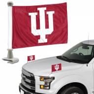 Indiana Hoosiers Ambassador Hood & Trunk Car Flag
