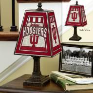 Indiana Hoosiers Art Glass Table Lamp