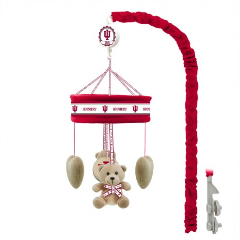 Indiana Hoosiers Baby Crib Musical Mobile