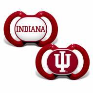 Indiana Hoosiers Baby Pacifier 2-Pack